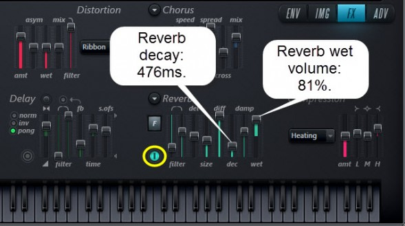 Reverb Settings
