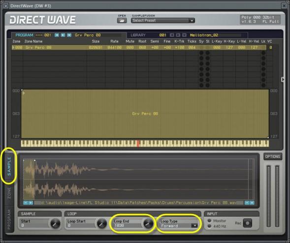 Looping In DirectWave