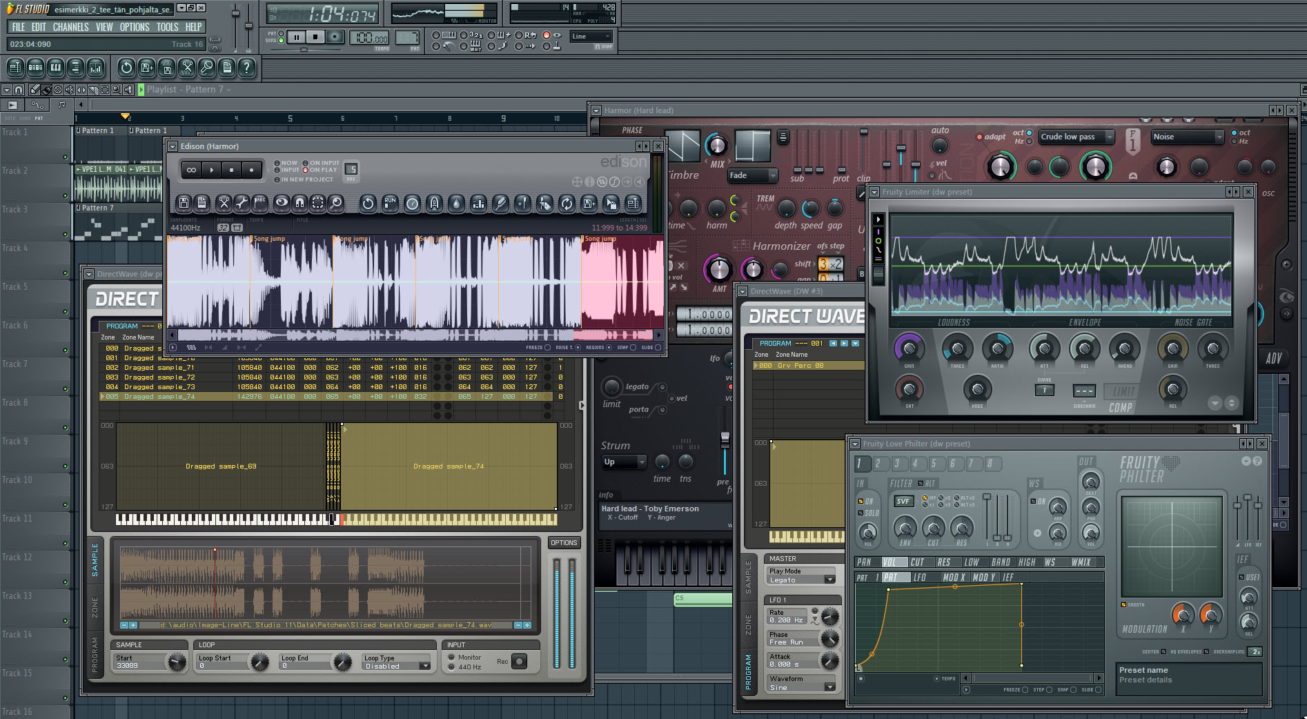 Method For More Complex Synth And Basslines