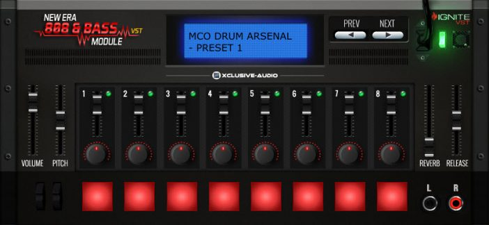Review And Giveaway: Xclusive-Audio New Era 808 & Bass Module