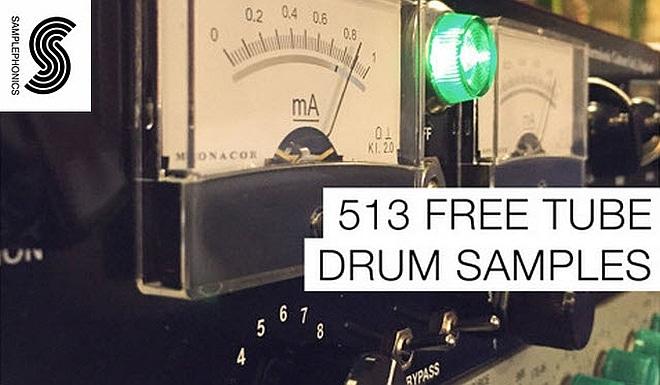 513 Free Tube Drum Samples!