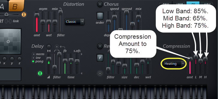 Compression Settings For Sound 2
