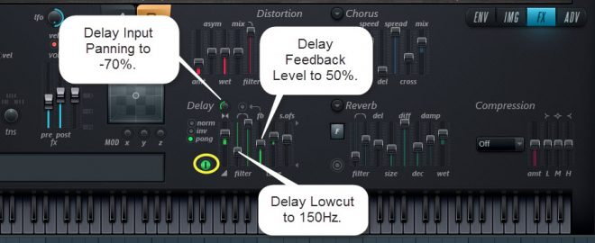 Delay Settings For Sound 3