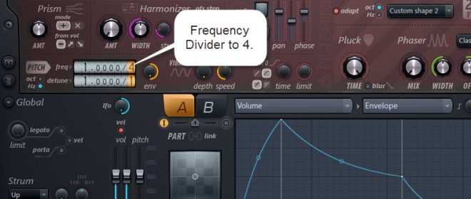 Frequency Divider Settings