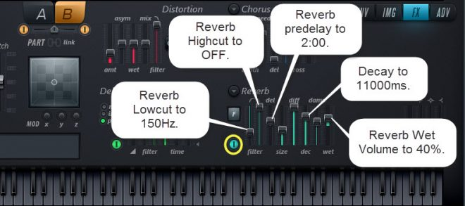 Reverb Settings For Sound 3