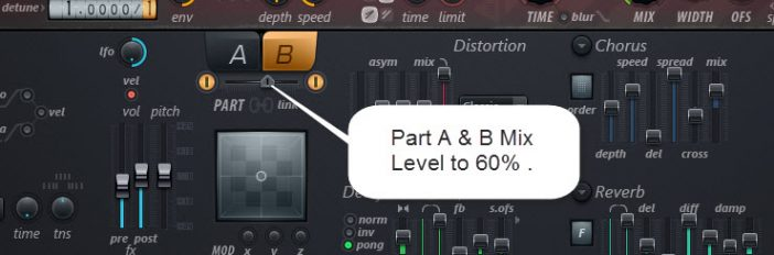 Sound 3 Part A And B Mix Level