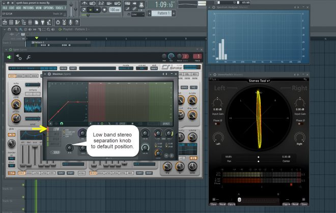 Stereo Information In The Low End