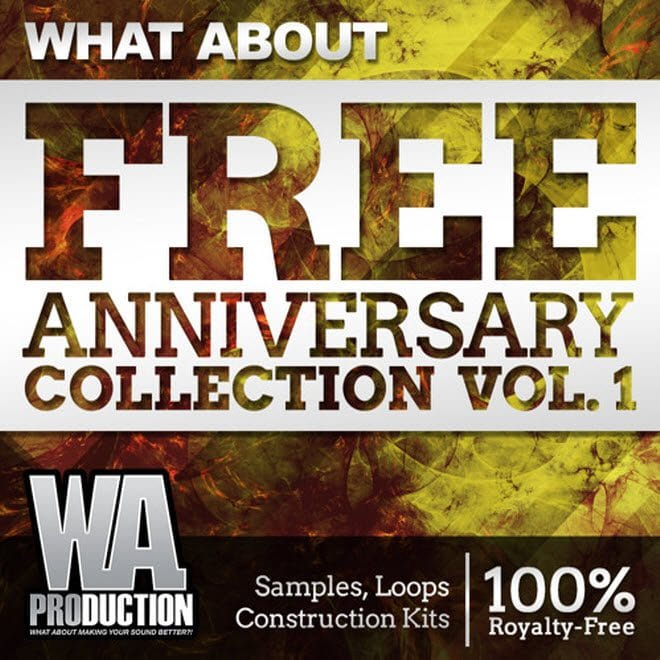 16GB Of Free Samples By WA Productions!