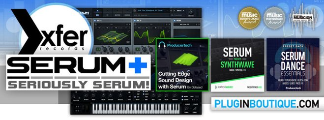 Xfer Serum+ Bundle Synth by Exclusive Bundles
