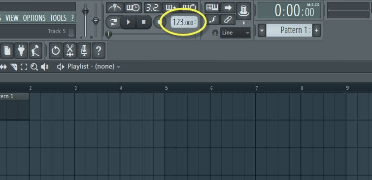 fl studio how to detect tempo of song