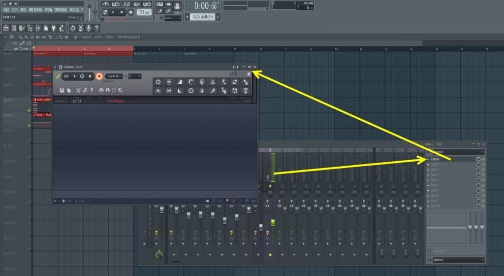 Loading Edison In Loop Recording Mode