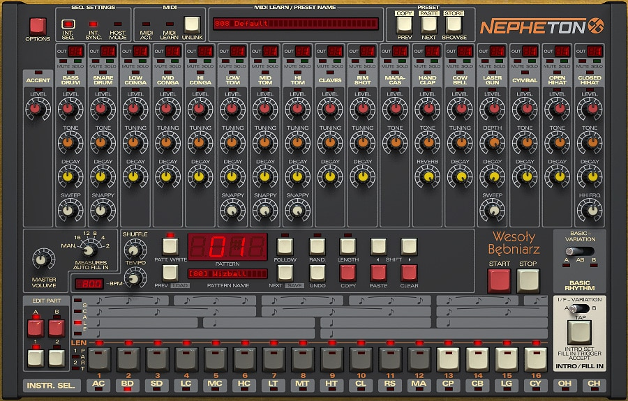 D16 Group Nepheton 808 VST