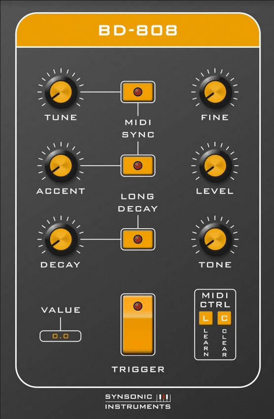 Synsonic Instruments Synsonic BD-808 plugin