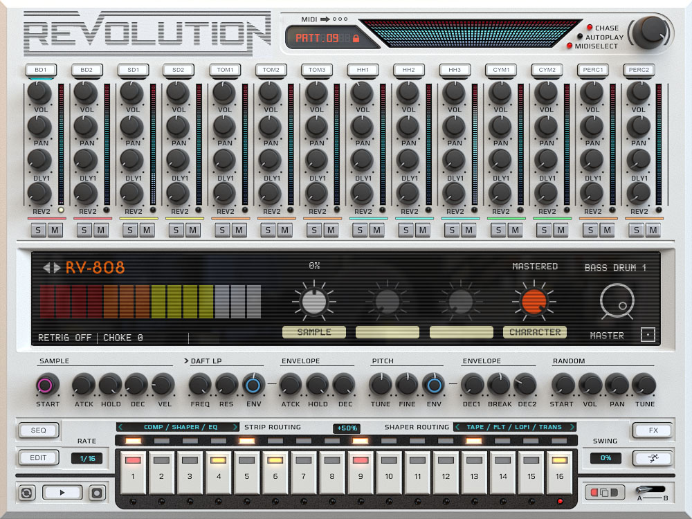 Wave Alchemy Revolution Bass plugin