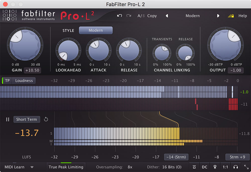 FabFilter FabFilter Pro-L 2