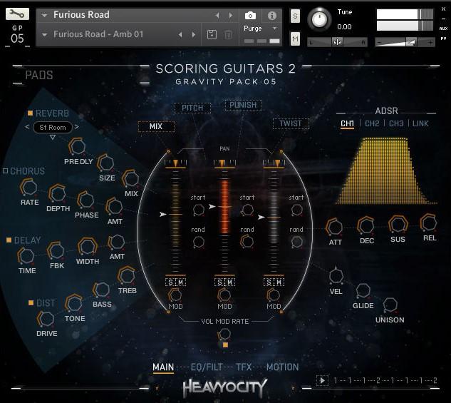 Heavyocity Scoring Guitars 2_ Gravity Pack 05
