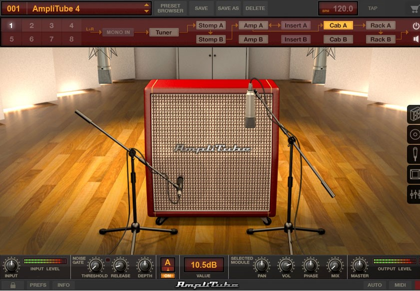 IK AmpliTube 4 Electric Guitar VST