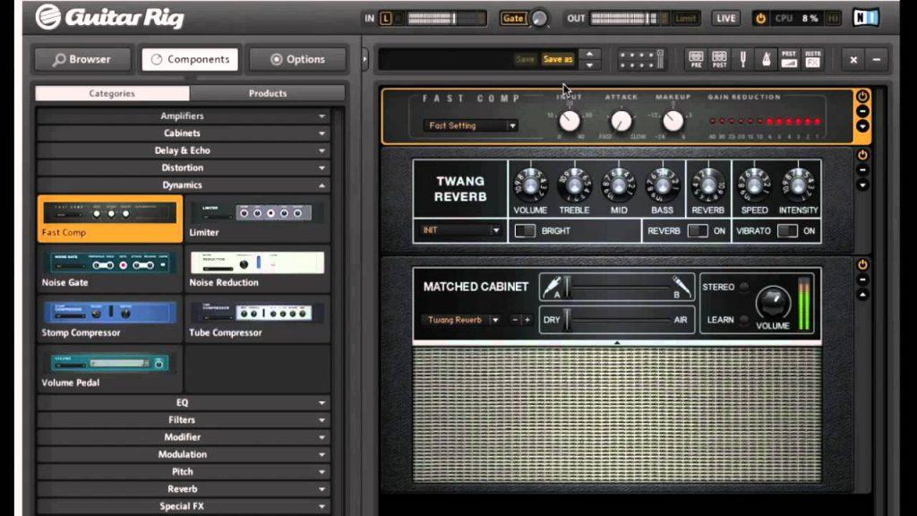 Native Instruments Guitar Rig Pro 5