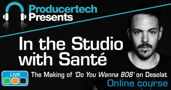 Review In the Studio with DJ Sante