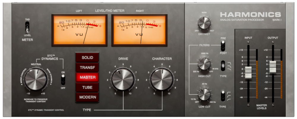 Softube Harmonics Distortion Plugin