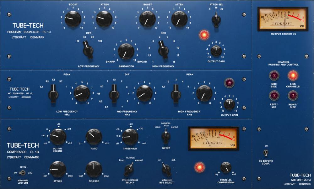 Softube Tube-Tech Complete Collection Compressor Plugins
