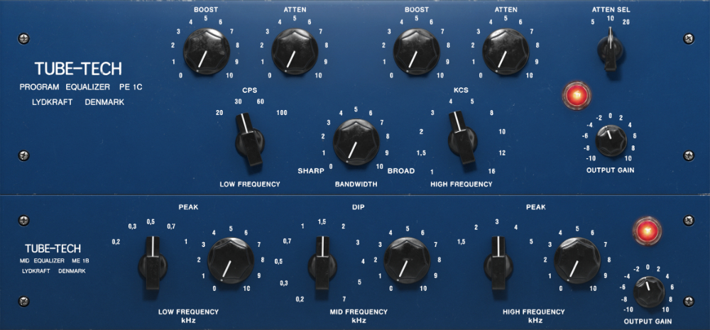 Softube Tube-Tech Equalizer Plugin Collection