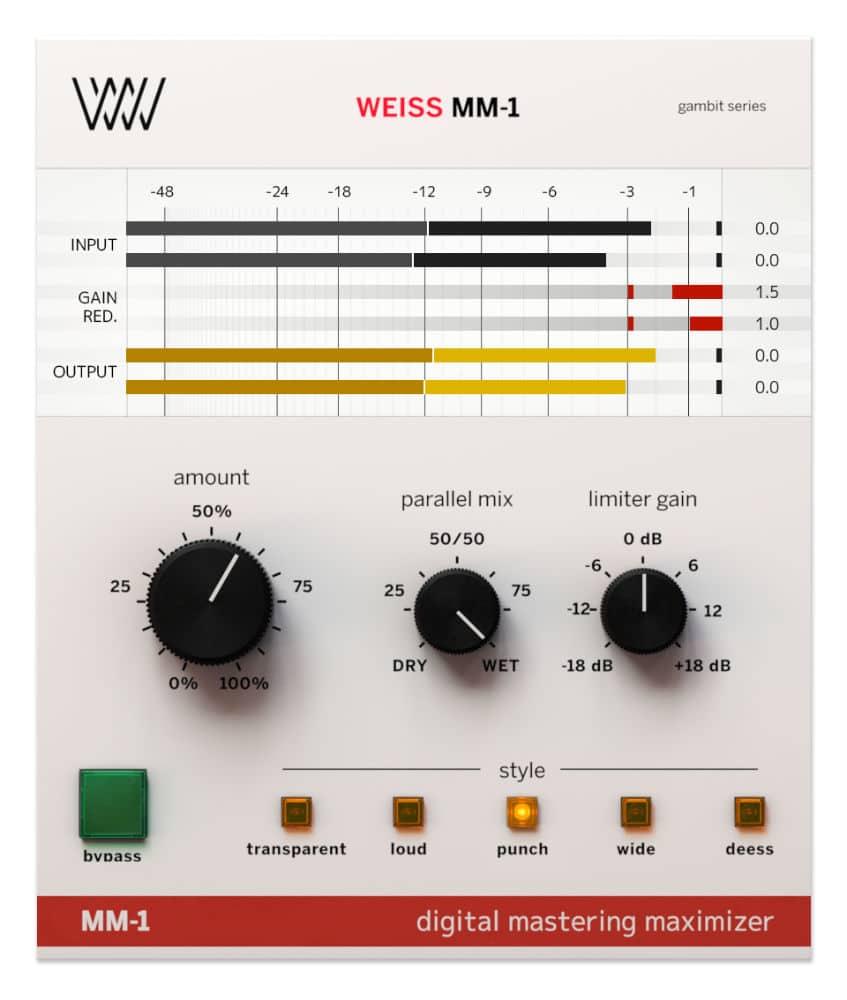 Softube Weiss MM-1 Mastering VST