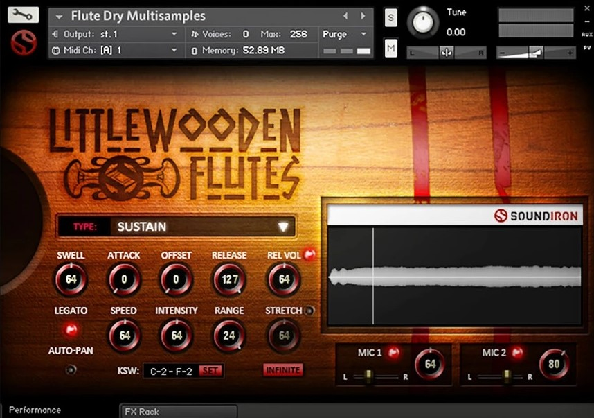 Soundiron Little Wooden Flute Plugin