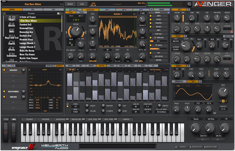 Vengeance Sound VPS Avenger Synth Plugin