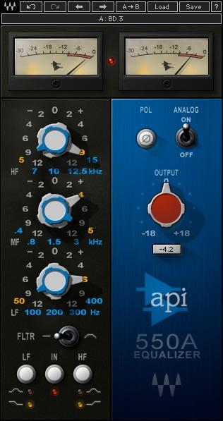 Waves API 550 Plugin