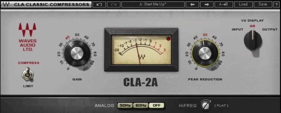 Waves CLA-2A Compressor _ Limiter