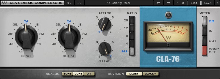 Waves CLA Classic VST Compressors