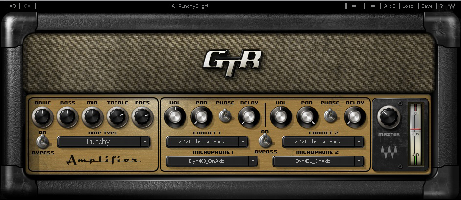 Waves GTR3 Amps