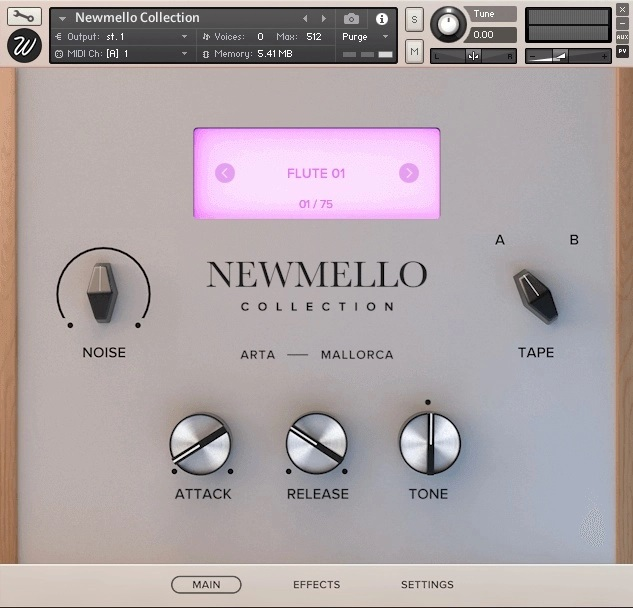 Wavesfactory Newmello Collection Flute VST FL Studio