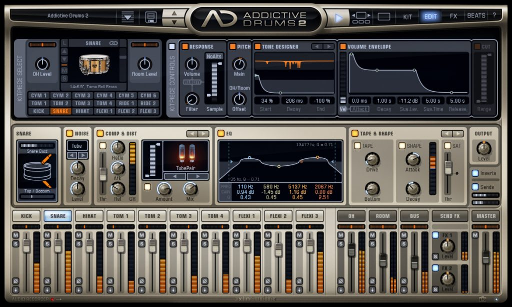 XLN Audio Addictive Drums 2_ Custom XL