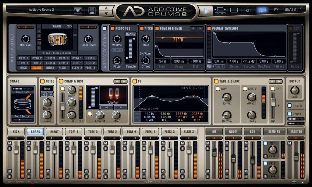 XLN Audio Addictive Drums 2_ Custom XL