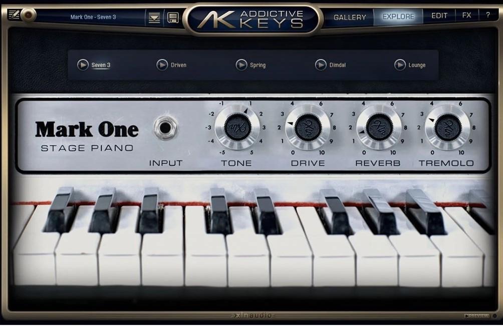 XLN Audio Addictive Keys_ Mark One