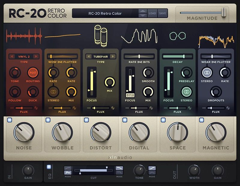 XLN Audio RC-20 Retro Color Vintage Effect VST