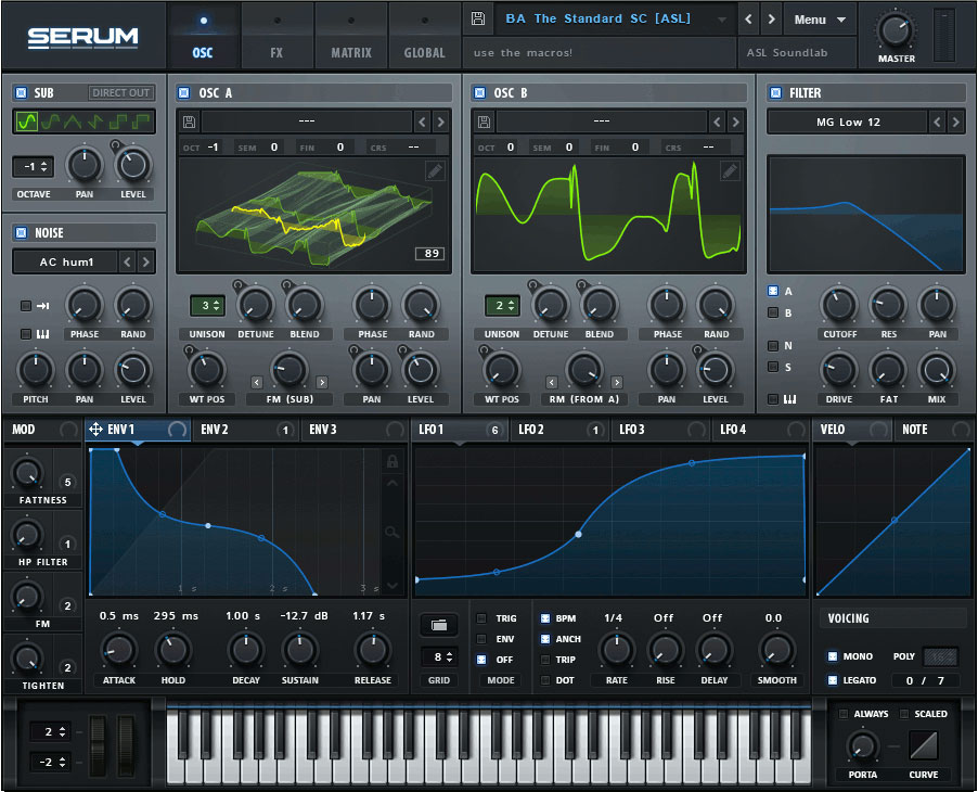 Xfer Records Serum Plugin