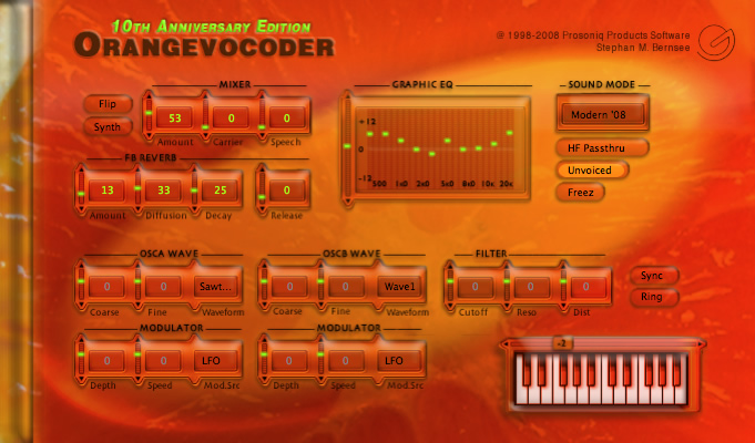 Zynaptiq ORANGE VOCODER VST