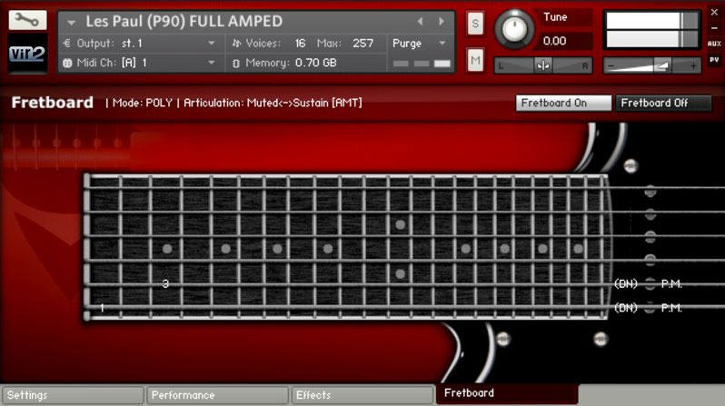 vir2 Electri6ity Guitar Virtual Instrument